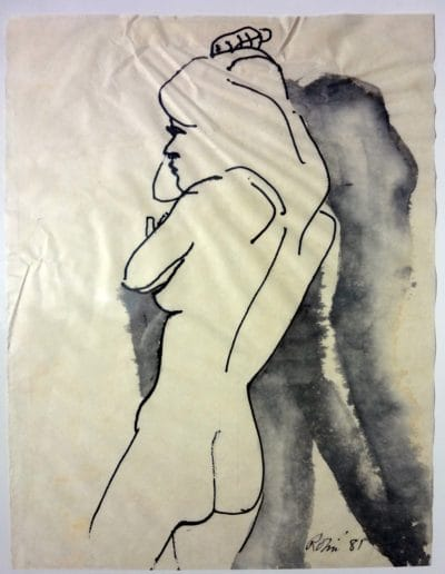 Drawing Nude with Shadows